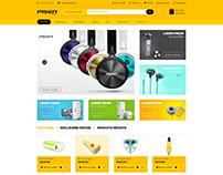Pisen Website