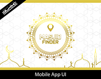 Masjid Finder App UI