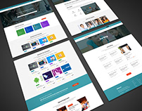 BIDDALOY - Training & Coaching PSD Template