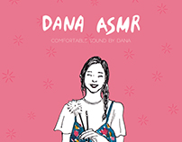 DANA ASMR ILLUSTRATION