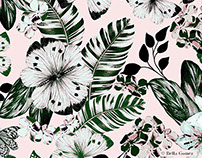 Botanical print by Bella Gomez
