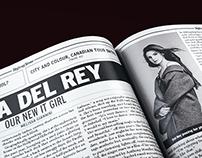 Rolling Stone Magazine Layout