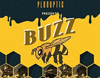 Buzz - An event teaser poster for Plenoptic Prod