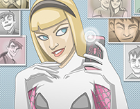Gwen Selfie
