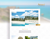 Amavi Hotel Website