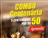 Combo Cerveja Centenária