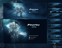Twitch Pack Design for Ferathas Gaming