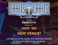 Drafts for Crafts Special Event Site