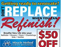 Miracle Method Newspaper Ad