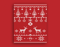 Christmas Sweater Card 🦌