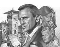 Comp for James Bond Casino Royale Movie Poster