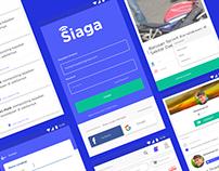 SIAGA - Social Media App
