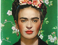 Fridatheraphy | Frida Kahlo eyebrow retouch