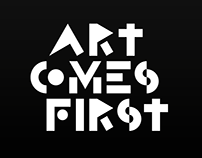 Art Comes First Tag - VI, Logo