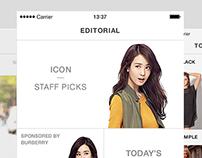 Icon Fashion App