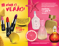 Campanha Verão - Yes! Cosmetics