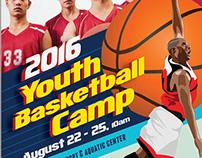 Basketball Camp Flyers