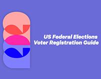 2020 US Federal Election Voter Registration Guide