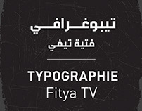 Typographie Fitya TV