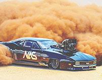 NAS Racing Camaro 69 SS - MAD MAX style