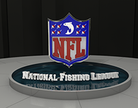 NFL (National Fishing League) 5 Second Animation