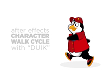 Character Walk Cycle | Kona the Penguin