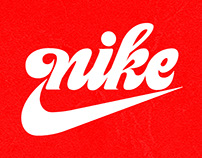 Nike Vintage Logo - Vector Process Video