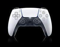 PlayStation 5 Controller Mockup - Free download (PSD)