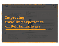 Improving travelling experience on Belgian railways