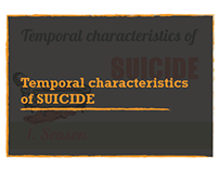 Temporal characteristics of suicide