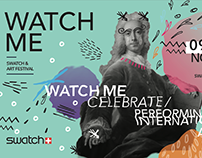 Student Project - Watch Me -Swatch Promotional Campaign