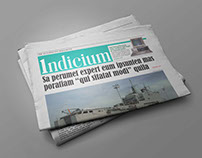 Newspaper Design - Indicium
