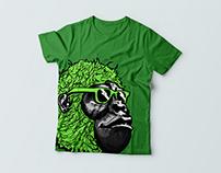 Gorilla mascot design for Ambronite