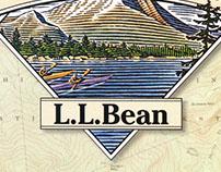 L.L. Bean Logos and Catalog Illustrations