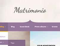Matrimonio - Ceremony & Wedding WordPress Theme