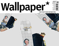 Wallpaper Magazine Cover / HJALTE HALBERG article