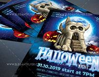 Halloween Night V02 – Free Flyer PSD Template