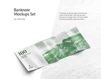 Banknote Mockups Set