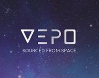 VEPO - space water branding