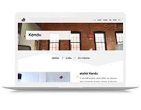 Webdesign and development for interior design studio.