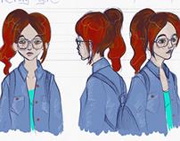 Character design, concept art