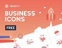 Icon set from Seodity | Freebie