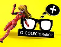 O Colecionador / Action Figures Store Brand identity