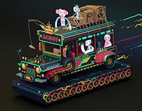 Renegade Jeepney