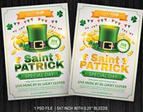 Saint Patrick Flyer Template