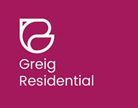 Greig Residential Rebrand