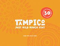 Tampico Typeface with FREE Symbols Version
