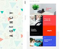 Agency - Creative PSD Template