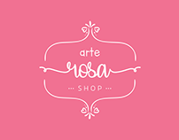 Arte Rosa   Branding