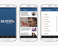 Belsat TV mobile app